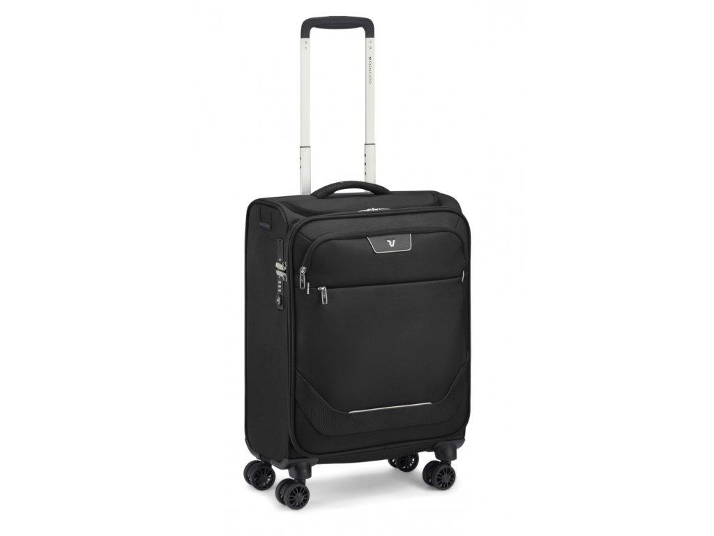 175579 8 cestovni kufr roncato joy 4w s usb cerna