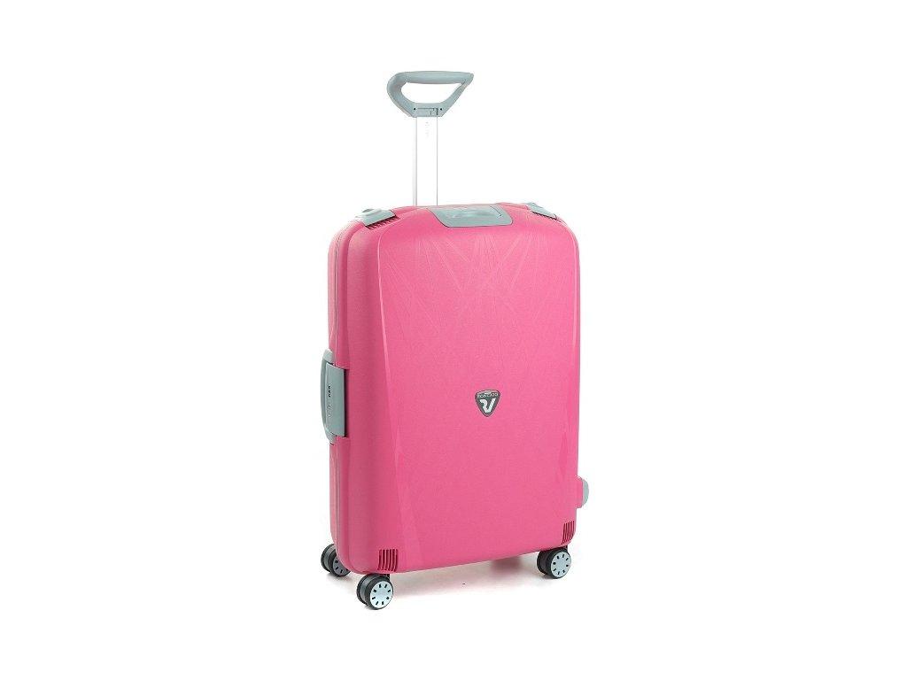 167563 5 cestovni kufr roncato light m fuchsie