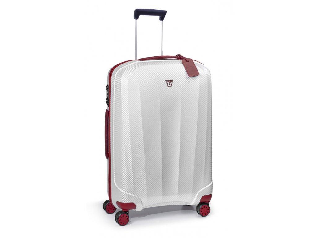 173155 8 cestovni kufr roncato we are 4w m bila