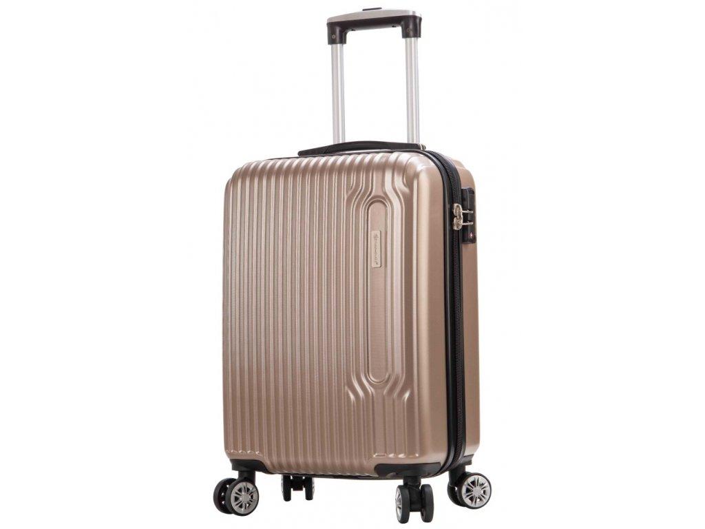 173701 5 cestovni kufr snowball 4w abs s sampanska