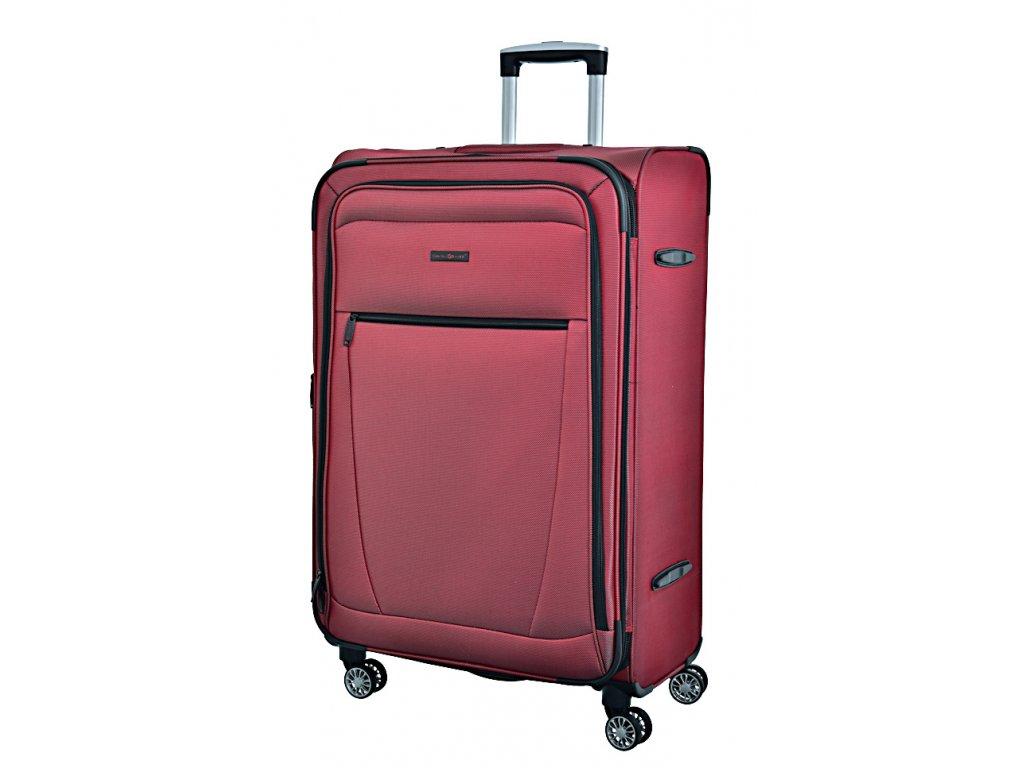 173017 7 cestovni kufr snowball 4w l cervena