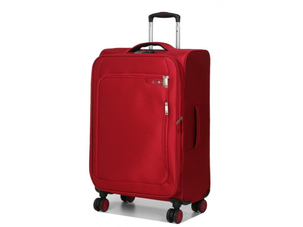 177139 9 cestovni kufr snowball 4w m cervena