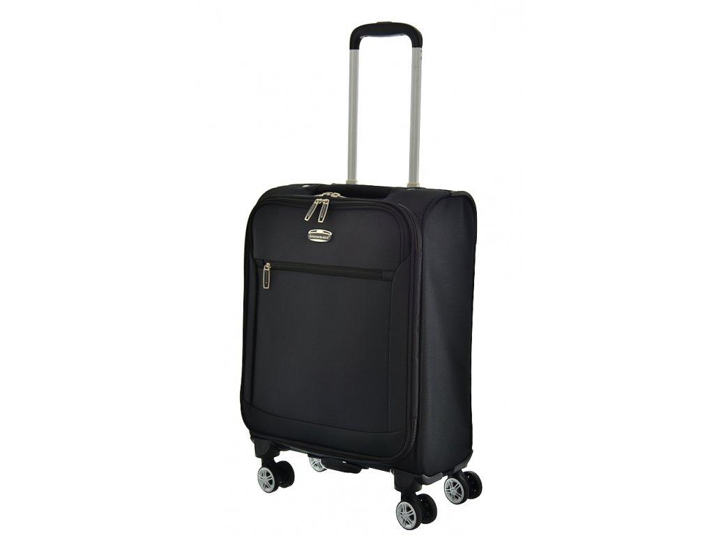 174286 6 cestovni kufr snowball 4w s cerna