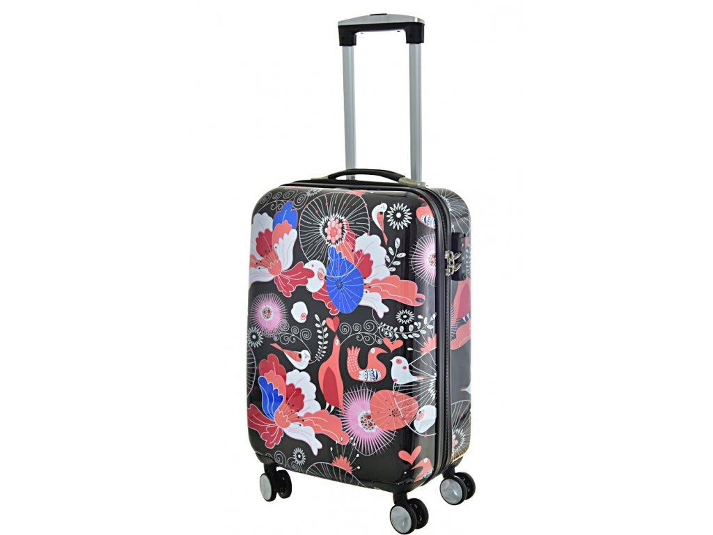 168592 5 cestovni kufr snowball pc 4w s multicolor