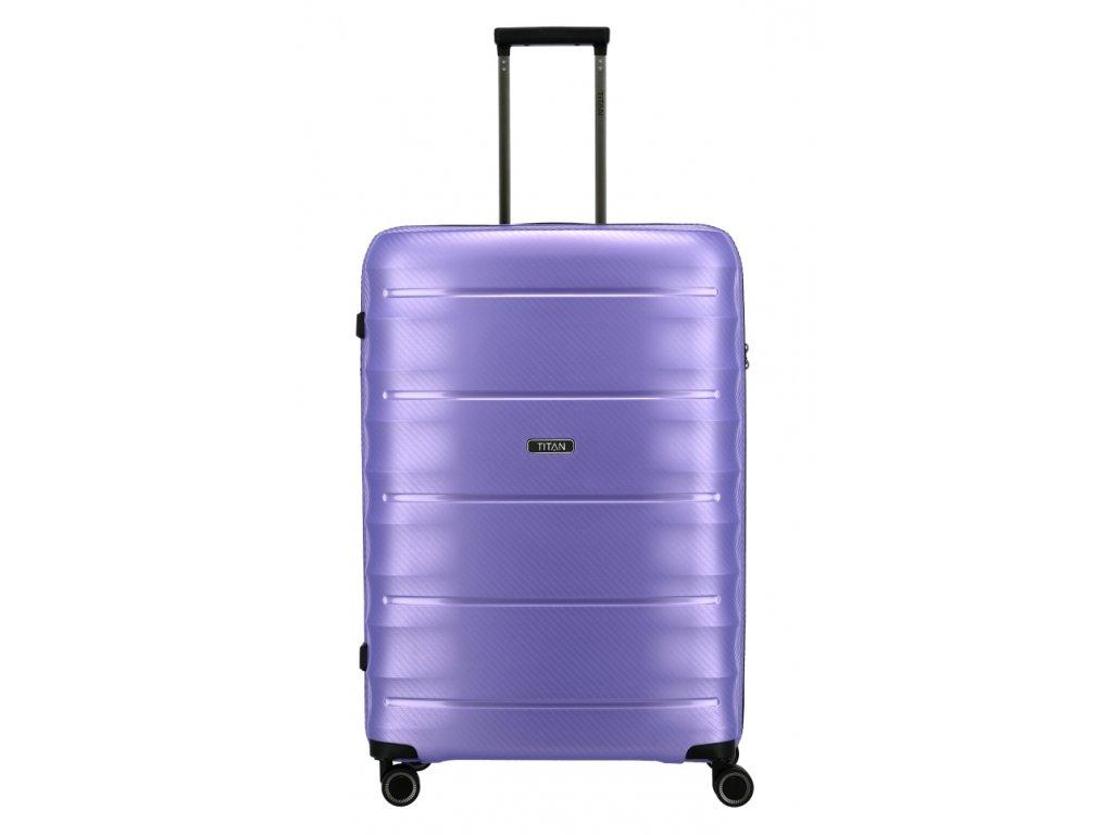 177397 5 cestovni kufr titan highlight 4w l fialova