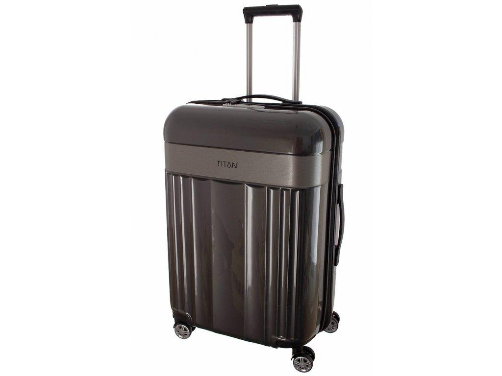 167713 7 cestovni kufr titan spotlight flash 4w m anthracite