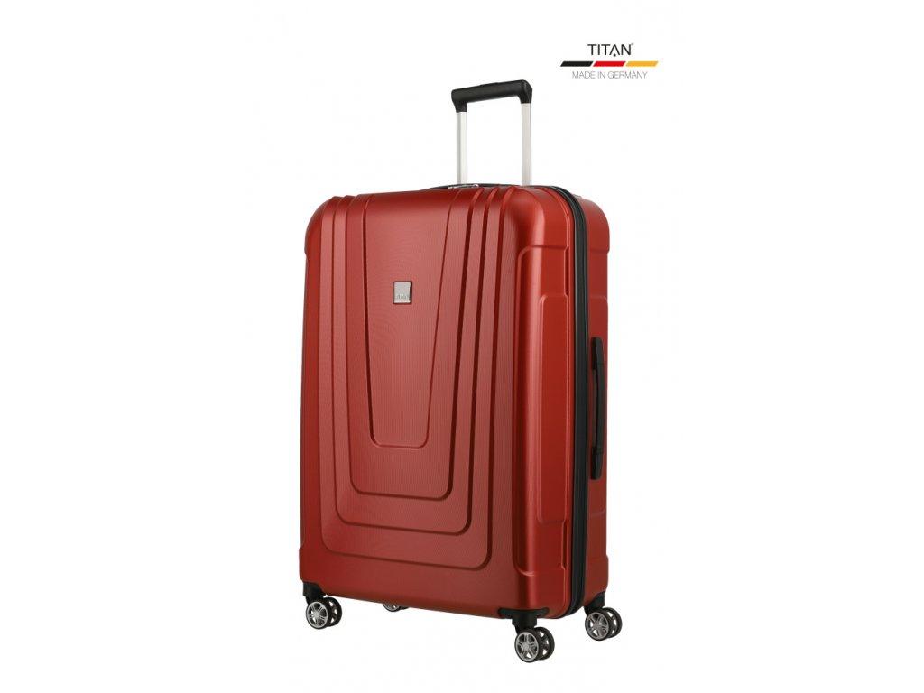 175102 11 cestovni kufr titan x ray 4w l cervena