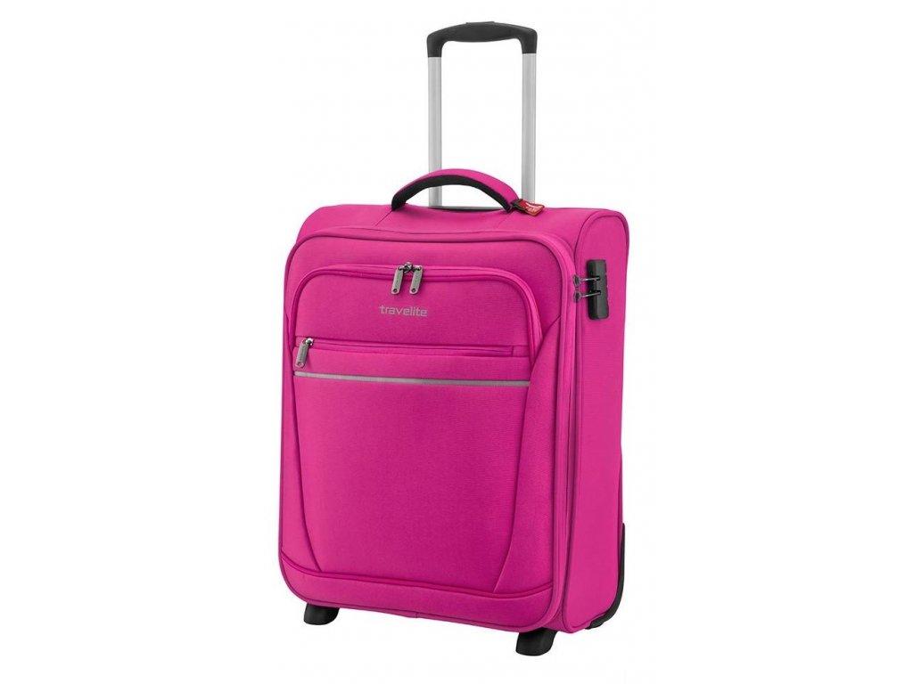 168712 3 cestovni kufr travelite cabin s 55 berry