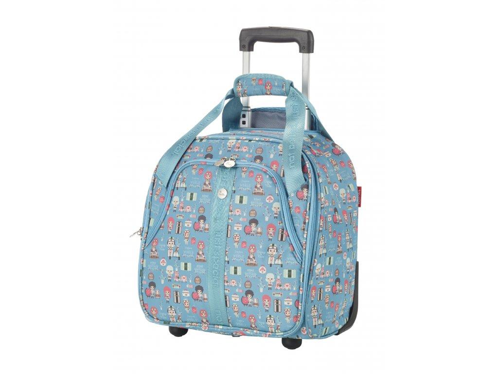 189367 cestovni kufr travelite lilledy s 2w underseater turquoise