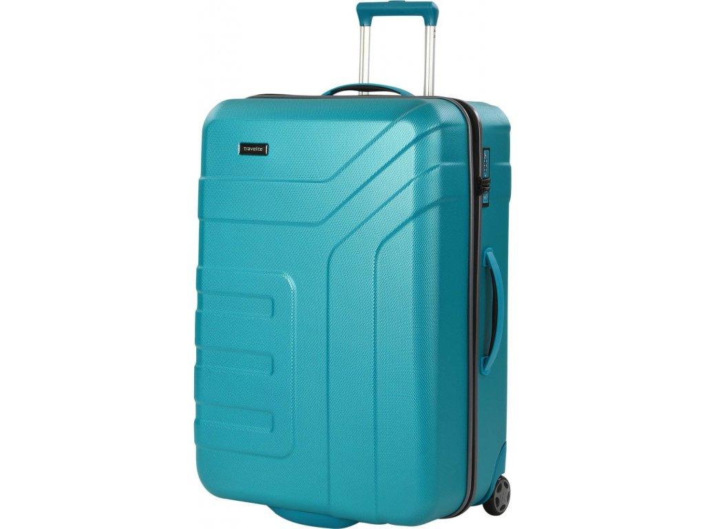 165937 7 cestovni kufr travelite vector 2w l turquoise