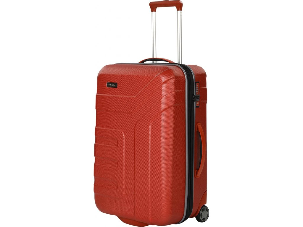 165934 8 cestovni kufr travelite vector 2w m coral