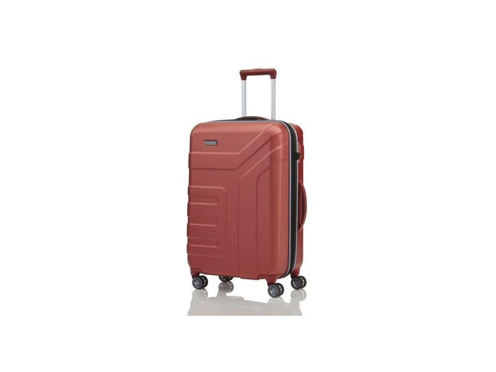 165355 2 cestovni kufr travelite vector 4w m coral
