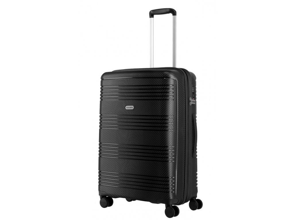 176071 7 cestovni kufr travelite zenit w4 m cerna