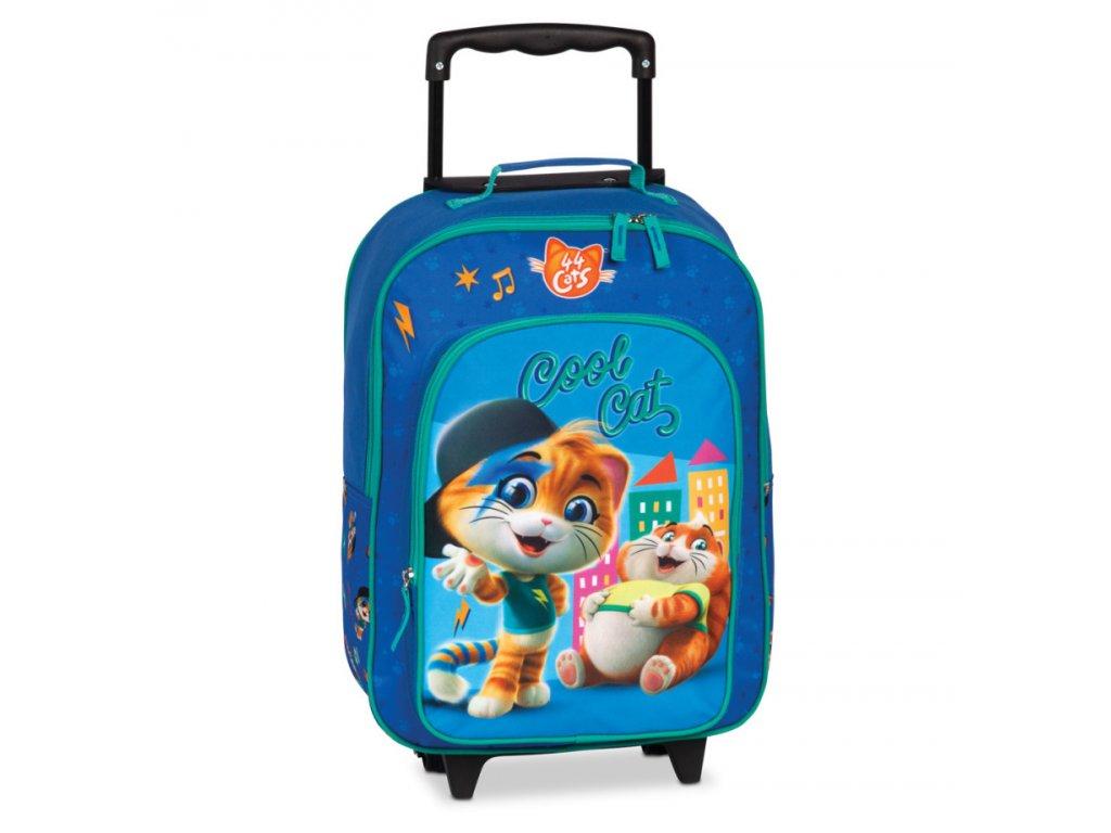 177595 5 detsky kufr cool cats modra