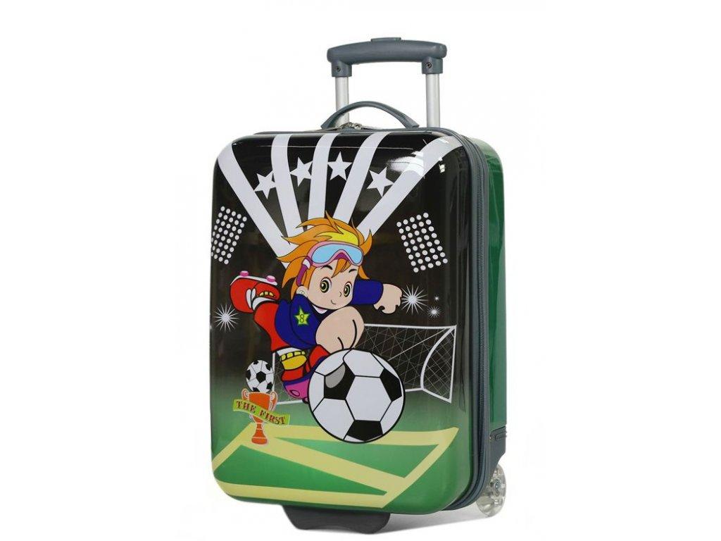 167827 4 detsky kufr madisson football 2w sx green
