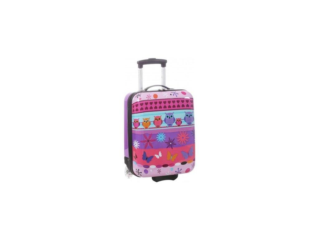 166297 5 detsky kufr snowball sovicky 2w sx fialova