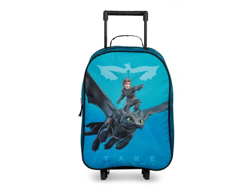 170044 1 detsky kufr dragon blue