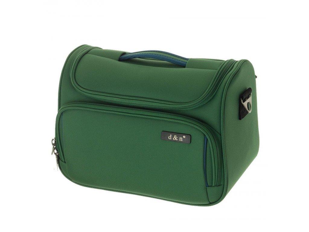 166030 3 kosmeticky kufr d n zelena