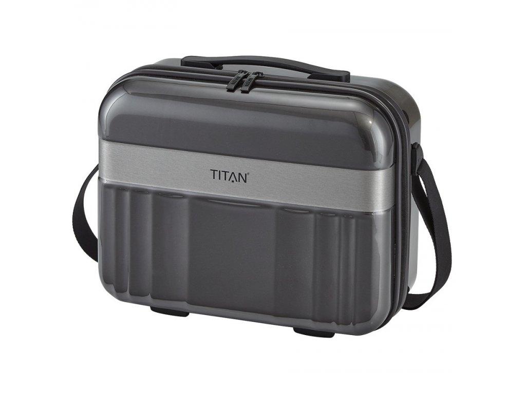 174571 3 kosmeticky kufr titan spotlight polykarbonat antracitova