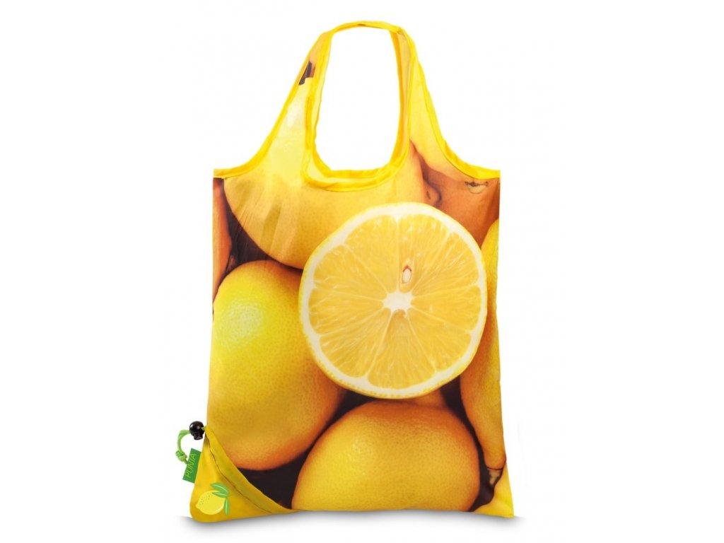 163816 2 nakupni taska punta citron zluta