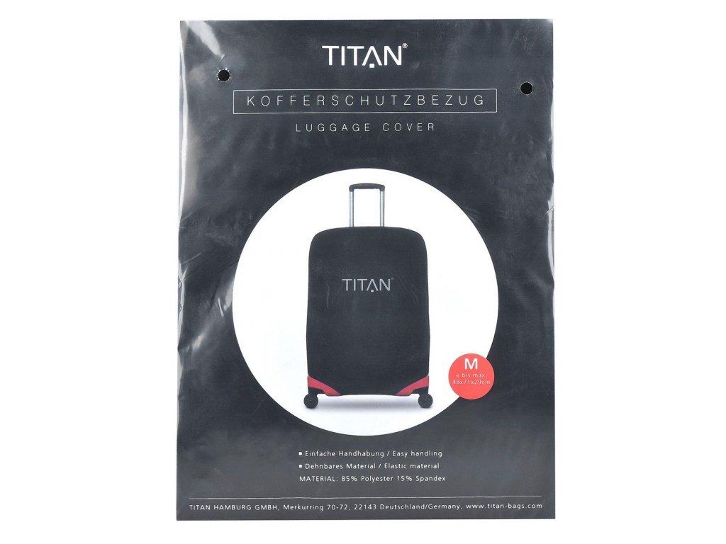 166909 2 obal na kufr titan universal m black