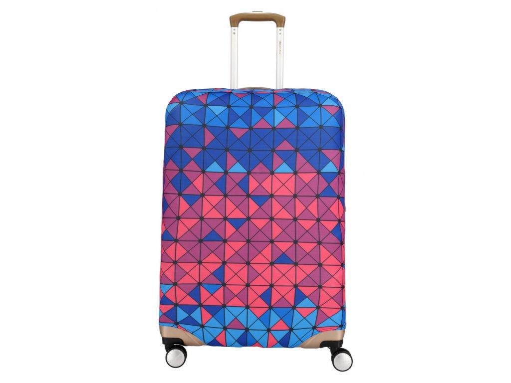 172189 1 obal na kufr travelite m multicolour