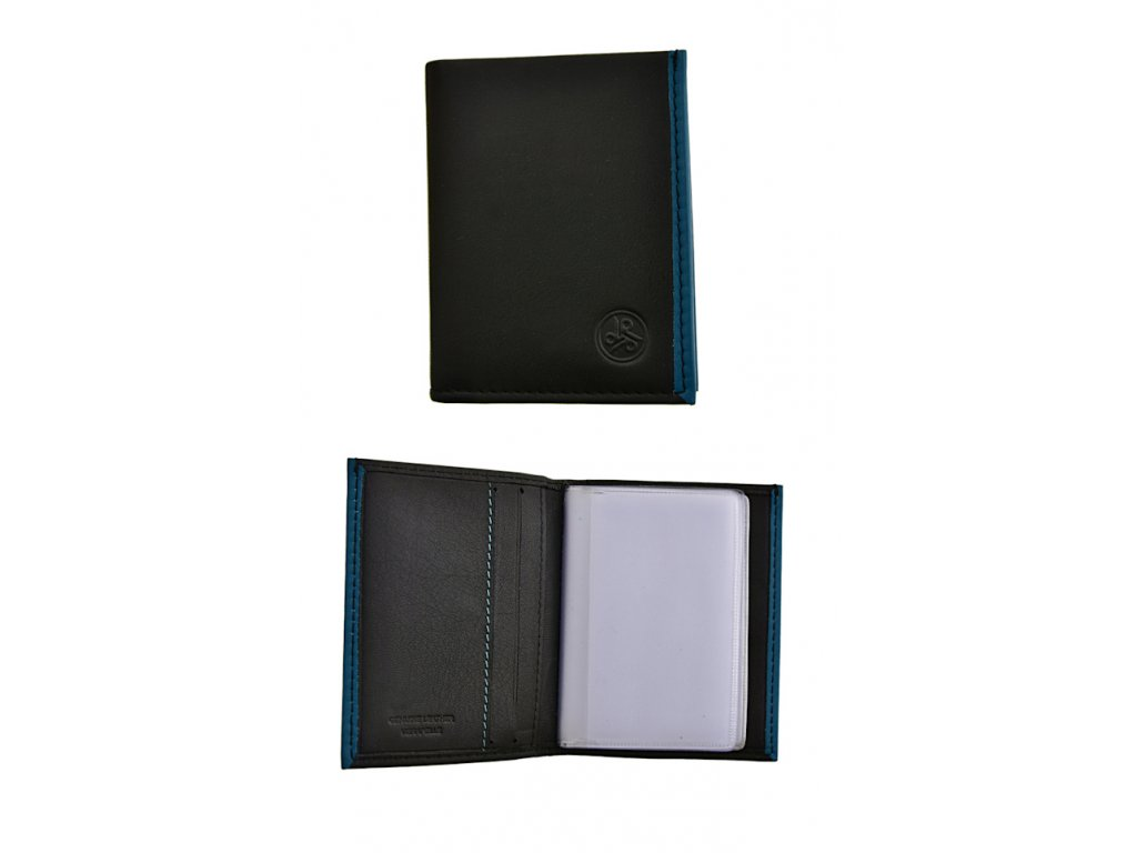 165907 4 pouzdro na vizitky carraro binding black