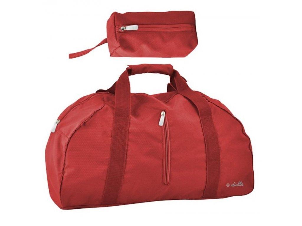 166294 1 skladaci cestovni taska dielle lybra cervena