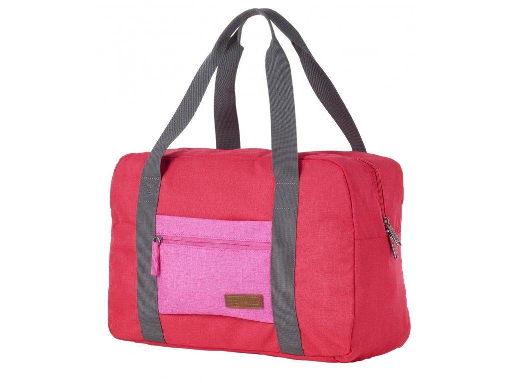 188848 taska do letadla travelite neopak red pink