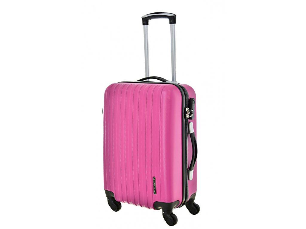 167851 4 cestovni kufr madisson 4w s pink