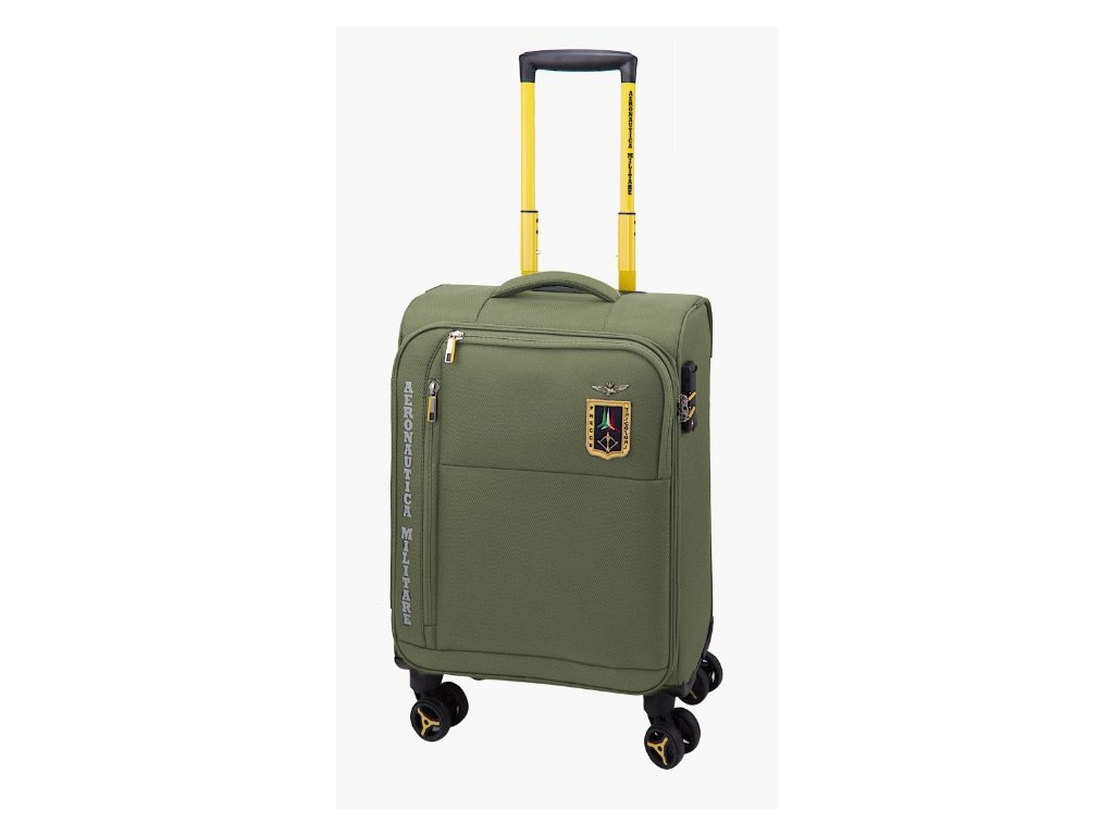 AM210 55 Aeronautica Militare kufr 1 zeleny