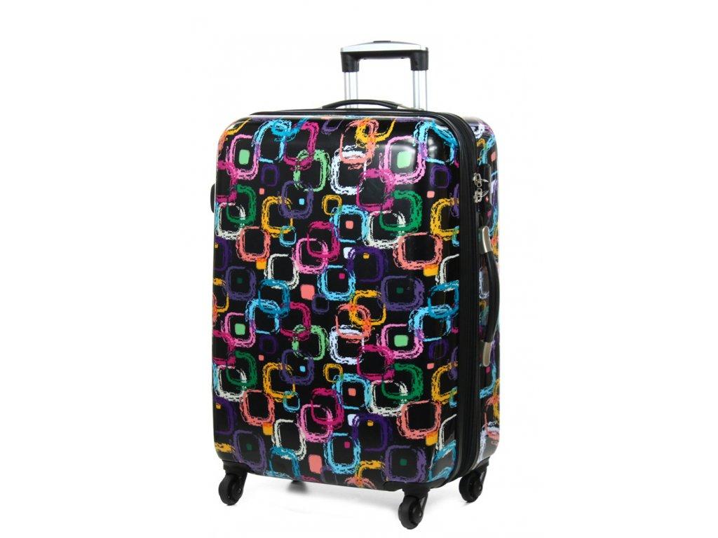 66820B 60 01 Cestovni kufr barevny 1