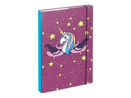 64635 1 baagl desky na skolni sesity a4 unicorn