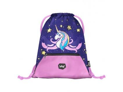177223 6 baagl sacek na obuv unicorn fialova