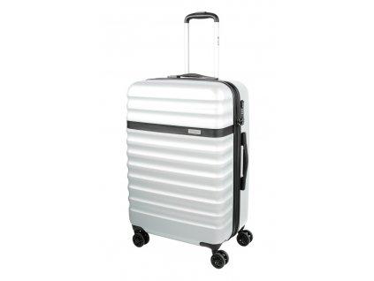 169375 6 cestovni kufr bugatti corium m silver