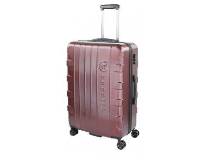 169366 8 cestovni kufr bugatti galatea l red