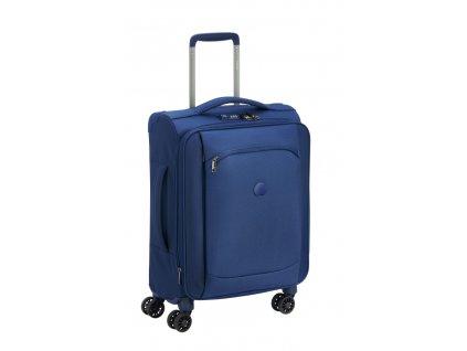 170638 6 cestovni kufr delsey montmartre slim 55 blue