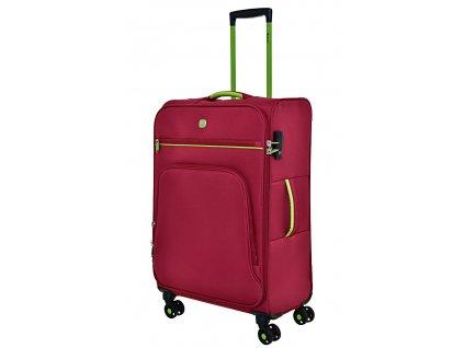 168742 7 cestovni kufr dielle 4w m red