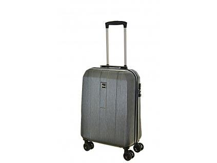 168526 7 cestovni kufr fabrizio 4w s gateway dark grey