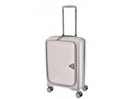 168073 6 cestovni kufr march gotthard cabin s silver metallic