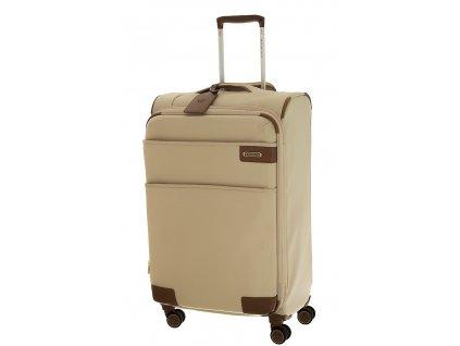 165265 7 cestovni kufr roncato uno soft deluxe m sampanska