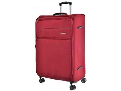 168682 8 cestovni kufr snowball 4w l red