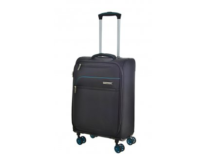 168661 8 cestovni kufr snowball 4w s black