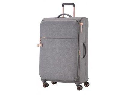 168913 7 cestovni kufr titan barbara 4w l grey