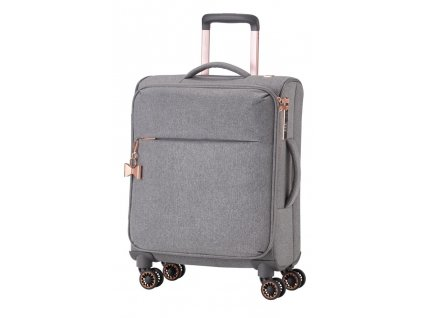 168622 6 cestovni kufr titan barbara 4w s grey