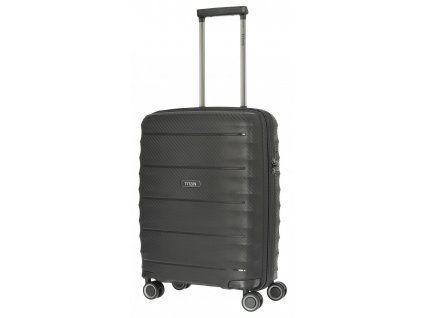 169528 4 cestovni kufr titan highlight 4w s black