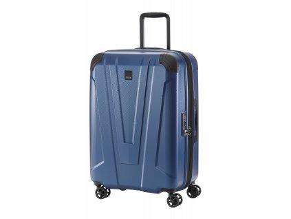 169567 7 cestovni kufr titan protect 4w m navy