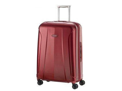 169579 6 cestovni kufr travelite elbe 4w m red