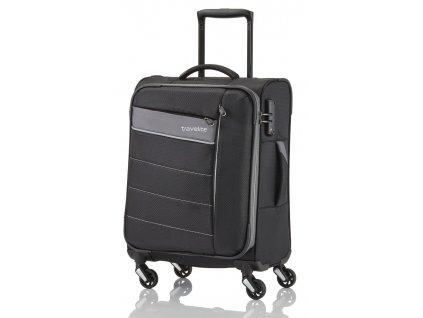 166729 5 cestovni kufr travelite kite 4w s black