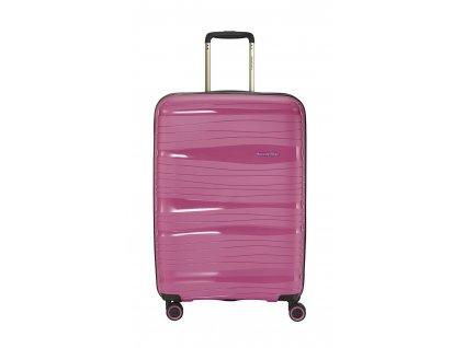 169891 10 cestovni kufr travelite motion 4w m rose